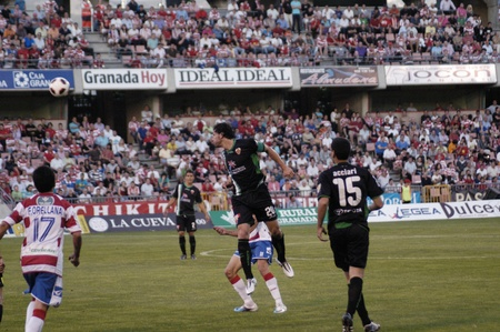umpiring: football game between the granada and elche cf 29052011 Editorial