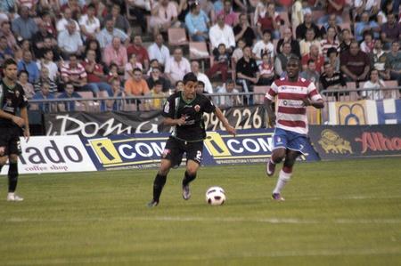 football match between granada and elche cf 29052011