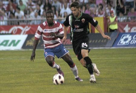 warning fans: football match between granada and elche cf 29052011