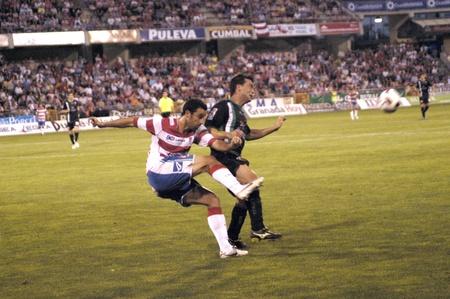 football match between granada and elche cf 29/05/2011 Stock Photo - 9690990