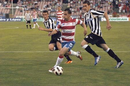 horizontal gamefans: 20110525 - granada - spain - football game between the granada cf and udinese calcio