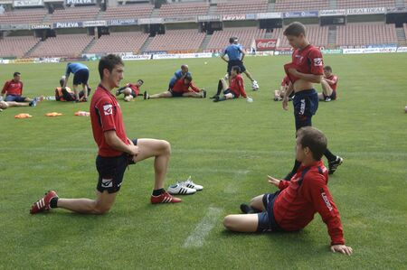 20110610 - spain - granada - heat after practice of granada cf