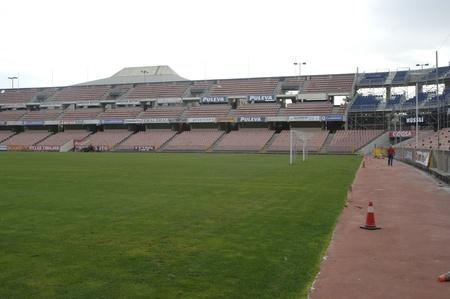 fanaticism: soccer stadium in grenada carmenes 08192011