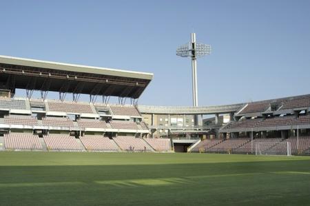 Estadio de fútbol Foto de archivo - 10558802