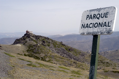 national park of sierra nevada, in the province of granada