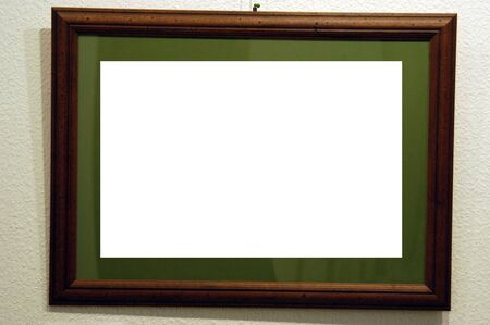 white picture frame photo