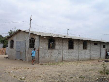 guayaquil: poor school in ecuador Editorial
