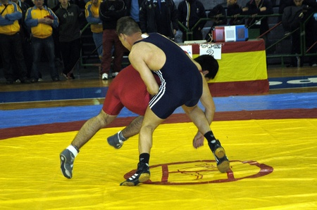 spain championship: spain championship wrestling in the sports hall of granada Editorial