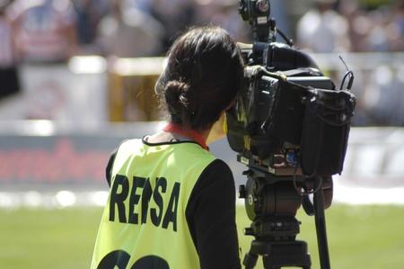 medios de comunicación deportivos Foto de archivo - 10707800