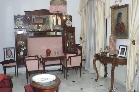 antique furniture and decoration, antique furniture photo