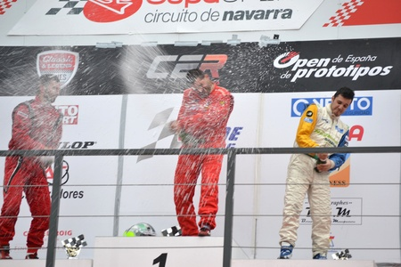 Enrique Cirre proclaimed champion of spain at the circuit prototypes of navarra - 13112011