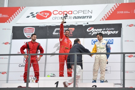 champion of spain: Enrique Cirre proclaimed champion of spain at the circuit prototypes of navarra - 13112011