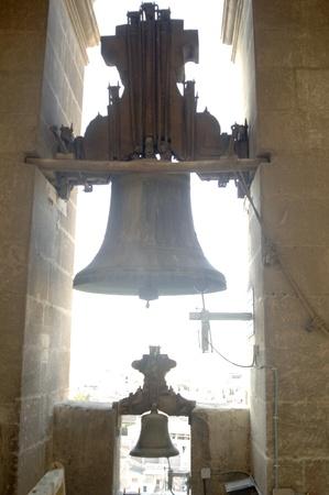 campanas de la torre campanario de la Catedral de Granada Foto de archivo