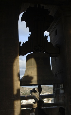 bells from the belfry of the cathedral of granada. 17112011