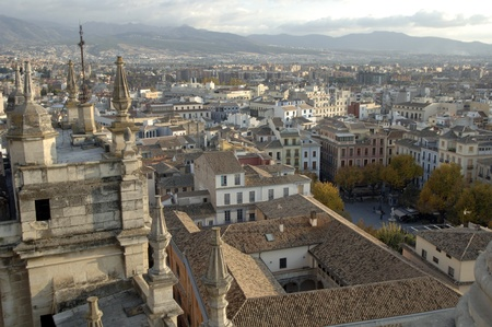 Vista de la catedral de Granada. 17-11-2011 Editorial