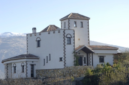 casa de campo en el camino a Saleres Cozvijar, en la provincia de Granada. 26112011