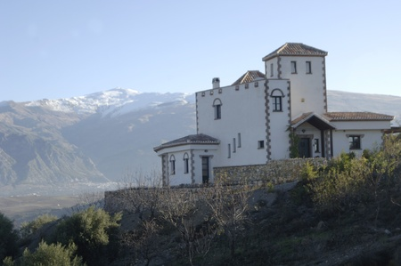 villa on the outskirts of Sierra Nevada in Granada province. 26-11-2011
