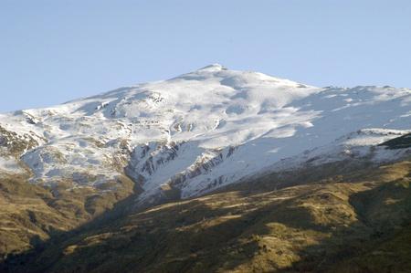vistas de Sierra Nevada en la provincia de Granada. 26-11-2011
