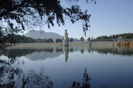 Cubillas swamp view, in the province of Granada photo