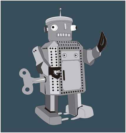 retro robot: retro robot toy