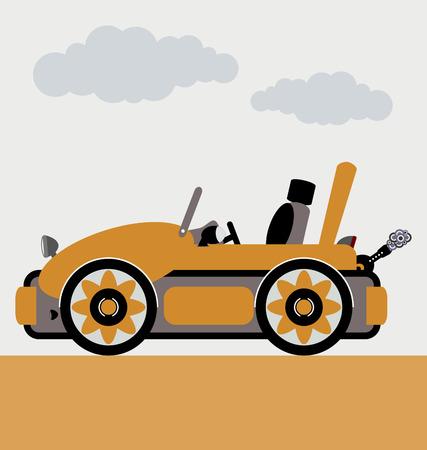 cabriolet: cabriolet car vector