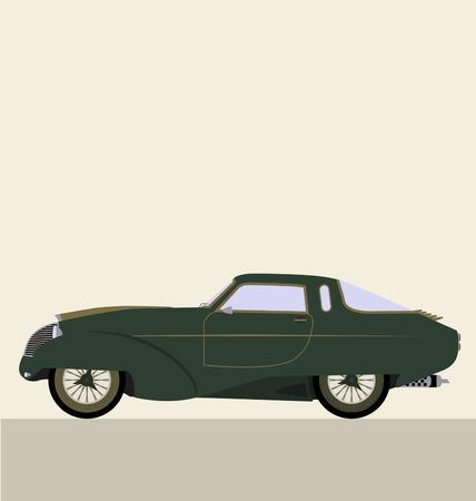 collectible: vector retro car
