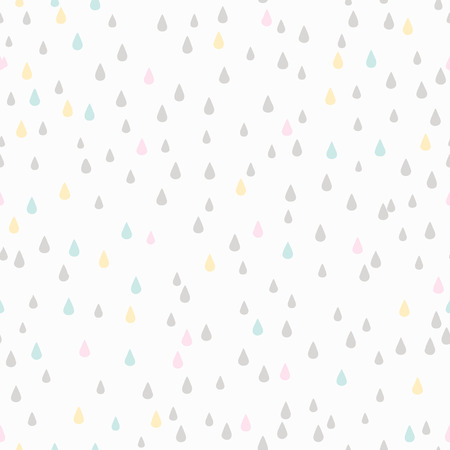 rain drop: Seamless Pattern. Rain Drop. Background Design Illustration