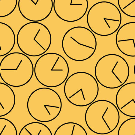 cover background time: seamless pattern. clock. vector background design