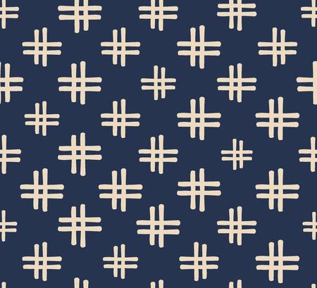 seamless, japonais Vector Art Design de fond pour le tissu et la décoration Vecteurs