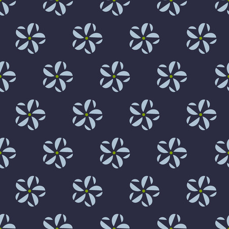 seamless pattern, flower vector art  background design for fabric and decor Ilustrace
