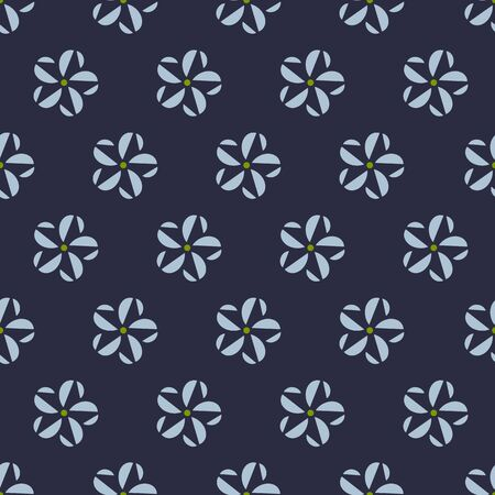 oriental rug: seamless pattern, flower vector art  background design for fabric and decor Illustration