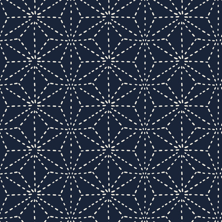 seamless pattern, Japanese art  background design for fabric and decor Иллюстрация
