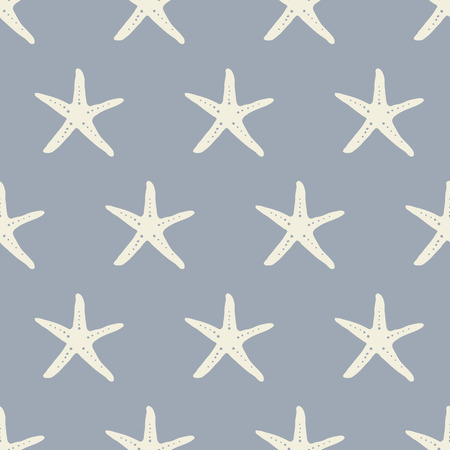 starfish: seamless pattern, starfish vector art  background design for fabric and decor