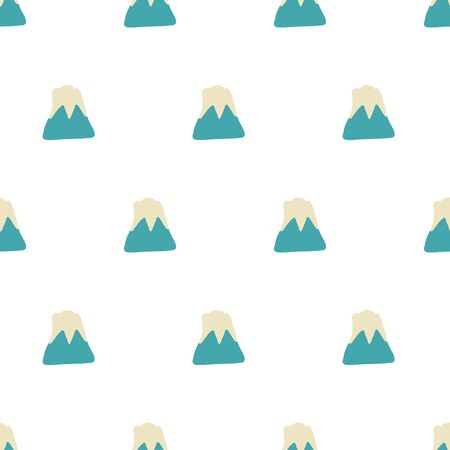 mount fuji: seamless pattern,Mount Fuji vector art  background design for fabric and decor