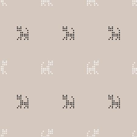 cross stitch: seamless pattern, Cross Stitch art  background design for fabric and decor