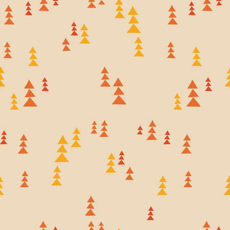 seamless pattern, geometric art  background design for fabric and decor Illustration