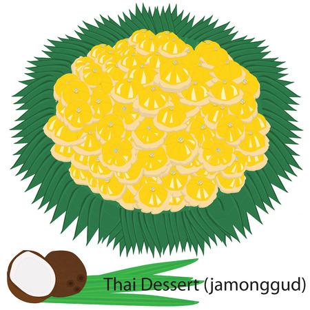 Thai dessert   Jamonggud