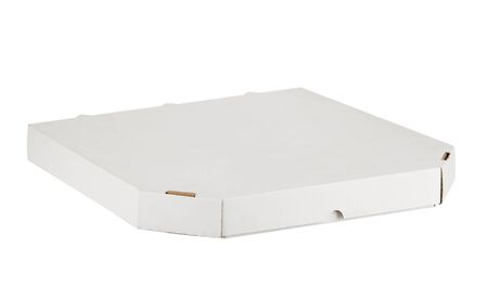 Pizza box. Biodegradable packaging, recyclable products