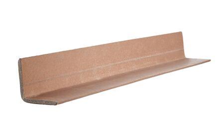 Industrial cardboard corner protection for pallets