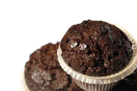 muffins on a white background Standard-Bild