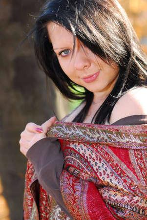 Beautiful woman Standard-Bild