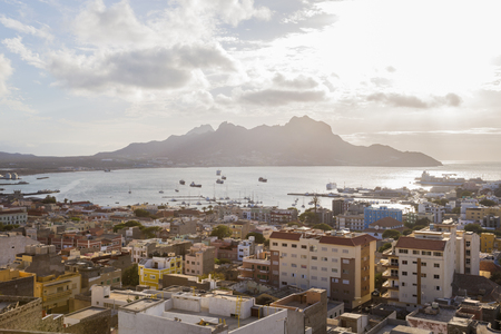 View over Mindelo, Sao Vicente, Cape Verde