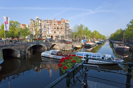 Canal, Amsterdam, The Netherlands