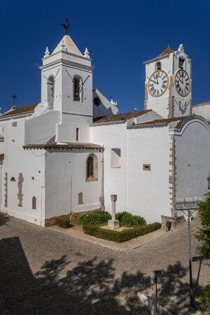 The church of Santa Maria do Castelo, Tavira Old Town, Algarve, Portugal