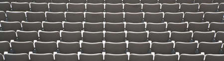 Rows of empty seats - banner image - pandemic