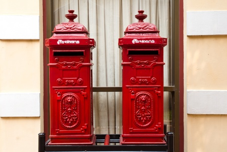 art, asia, asian, background, beautiful, beauty, box, communication, culture, decor, decoration, delivery, design, east, faith, letter, letterbox, mail, mailbox, office, old, oriental, pattern, pillar, post, postal, postbox, red, religion, retro, statue,  photo