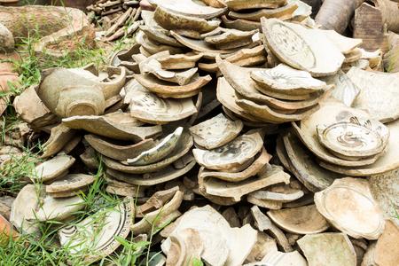 shards: broken pottery