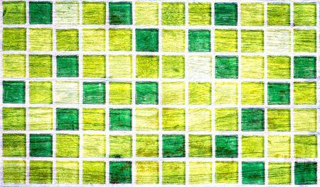 glass brick: Colorful glass brick wall wood pattern grunge style