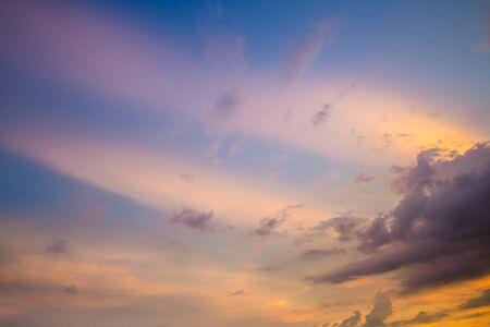 colorful cloudscape: Colorful cloudscape