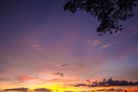 colorful cloud twilight